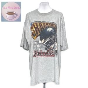 Lee Sports Vintage NFC Champion Falcons Gray Shirt